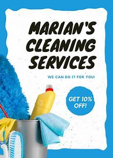 Cleaning Leaflet Template Customize 167 Cleaning Flyer Templates Online Canva