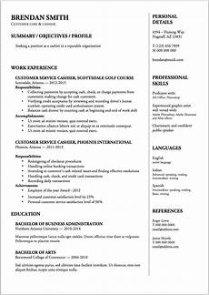 Sample Cv For Cashier Job Cashier Resume Amp Writing Guide 12 Samples Pdf Amp Word