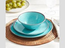 Turquoise Swirl Melamine Dinnerware   Everything Turquoise