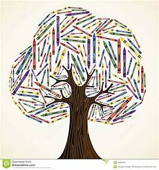 school education concept tree stock vector