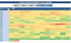 Heat Maps In Excel Microsoft Excel Create A Heat Map In Excel Using