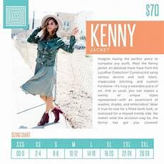 Lularoe Denim Jacket Size Chart Women S Lularoe Kenny Jacket Layering Piece Size Chart