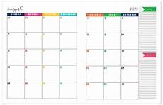 monthly planner 2020 2019 2020 monthly calendar planner monthly planner