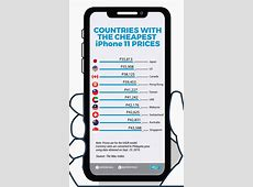 A look at iPhone 11 prices in countries that sell them the
