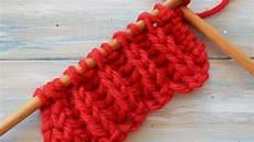 rib fisherman s rib knitting stitch variation