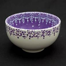 Pottery Bowl Designs Lovely Work Using Henna Designs By Uk Artist Humna Mustafa