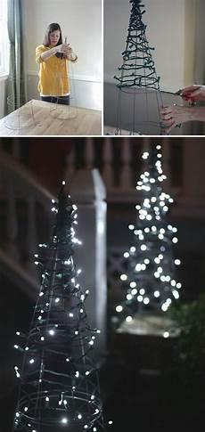 Battery Outside Christmas Tree Lights 50 Trendy And Beautiful Diy Christmas Lights Decoration