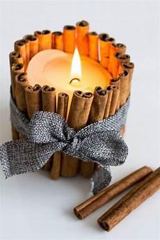 weihnachtsgeschenke kerzen duftkerzen mit zimtst 228 bchen selber basteln w h i t e c