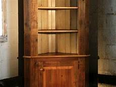 rustic corner cabinet from reclaimed wood ecustomfinishes