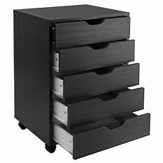 winsome wood halifax 5 drawer cabinet finishes