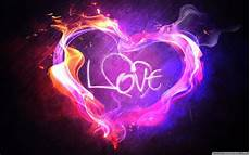 Heart And Lights 2015 Love And Heart Neon Light Hd Wallpaper