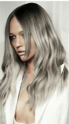 hair silver platinum silver hair tres chic xoxo