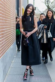 ideas fresh ways to wear black this