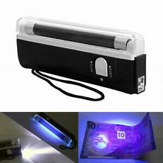 Bank Note Checker Light Portable Uv Bank Note Checker With Torch Ultraviolet Tube