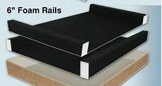 airpro replacement foam support rails compatible with