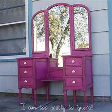 inspiration pink vanity table for every paperblog