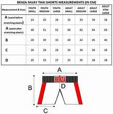 Soffe Shorts Size Chart Boxing Muay Thai Mma Judo Karate Taekwondo Supplies