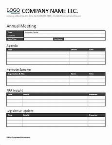 Microsoft Office Agenda Templates Ms Word Meeting Agenda Templates Office Templates Online
