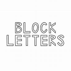 Block Letter Styles 10 Simple Hand Lettering Styles Plus A Free Cheat Sheet