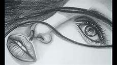 Pencil Art Drawings Pencil Drawing Female Figure Demo Super Speed Youtube