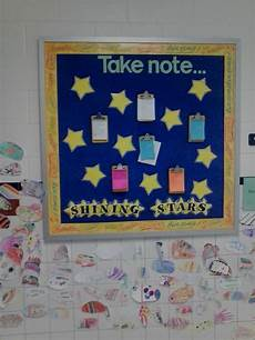 Employee Bulletin Boards Shining Stars Students And Staff Recognizing One Another