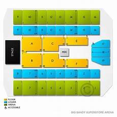 Big Superstore Arena Seating Chart Vivid Seats