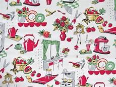 michael miller retro fabric fifties kitchen 1 2 yard in