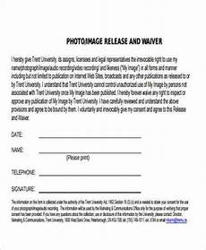 Photo Release Waiver Free 8 Sample Waiver Release Forms In Pdf Ms Word