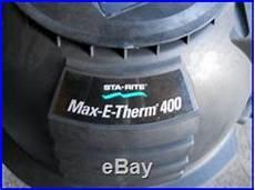 Sta Rite Service Heater Light Sta Rite Max E Therm Sr400na 400 K Btu Swimming Pool Spa