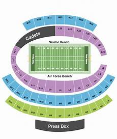 Af Falcon Stadium Seating Chart Falcon Stadium Seating Chart Amp Maps Colorado Springs