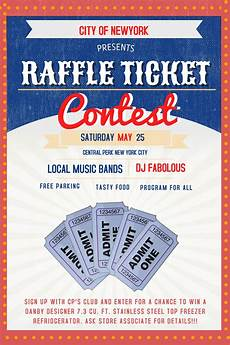 Raffle Ticket Poster Ideas Raffle Flyer Poster Social Media Post Template Contest