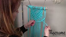 macrame projects diy macrame tutorial beginner wall hanging with