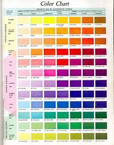 Hisandher Com Color Chart Color Chart