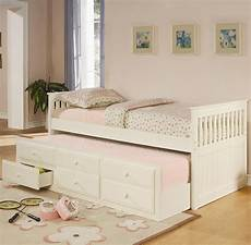 la salle captain s bed with trundle and storage