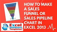Funnel Chart Excel 2013 How To Make A Sales Funnel Or Sales Pipeline Chart In