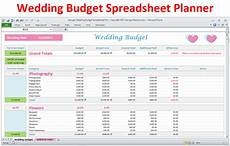 Wedding Cost Estimator Spreadsheet Wedding Budget Spreadsheet Wedding Budget In Excel
