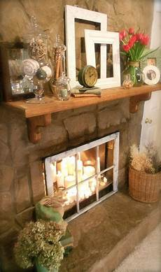 Decorate Fireplace Lighting 20 Romantic Fireplace Candle Ideas Candles In Fireplace