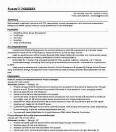Hvac Project Manager Resumes Senior Development Project Manager Resume Example Wework