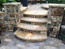 Stone Outdoor Lighting Built In Led Steps Lights For Pool Space By Outdoor