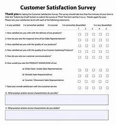 Satisfaction Survey Free 16 Sample Employee Satisfaction Survey Templates In