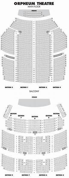 Shn Orpheum Theatre Virtual Seating Chart Orpheum Seating Chart Cabinets Matttroy