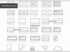 Appliances CAD Blocks free download