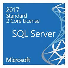 Sql Server Licensing Microsoft Sql Server 2017 Standard License 2 Cores