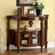 decor home furniture furniture of america classic antique walnut