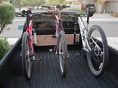 show your diy truck bed bike racks mtbr