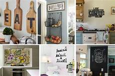 decoration ideas for kitchen walls 26 kitchen wall decor ideas your empty walls beg