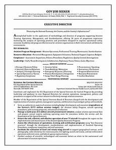 Government Resume Format Government Resume Example