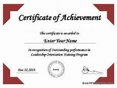 Top Performer Certificate Template Powerpoint Award Templates