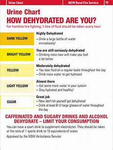 Dehydration Chart How Dehydrated Are You Tips For Staying Hydrated On The