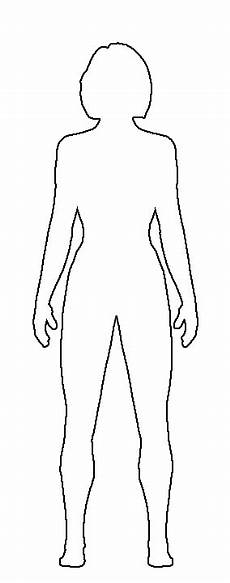 Outline Of A Female Body Template The New Heroes D I Y Superhero Designs